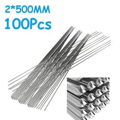 100pc Plastic Welding Rod Welder Soldering Sticks 25cm+200x5x2mm Practical