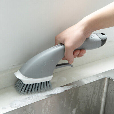 Handle Cleaning Brush Scrubber Dish Washing Kitchen Cleaning Tools Window Brush 11 09 Picclick Uk