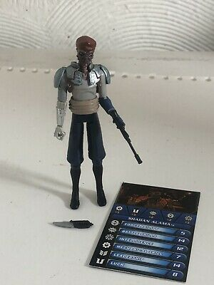 Star Wars Legacy Shahan Alama Pirate Loose NEW in UK