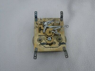 Clock Movement  Sold As Seen  Spares Or Repair