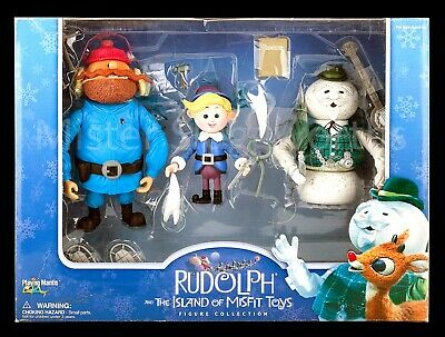 TEAM RUDOLPH DASHER MINI TOY COLLECTABLE OPENED BUT UNPLAYED WITH
