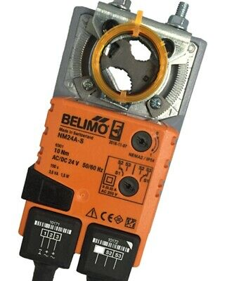 Belimo AFBUP-S Spring Return Actuator 24V AC//DC 90in-lb 8.5VA  w// End Switch NEW