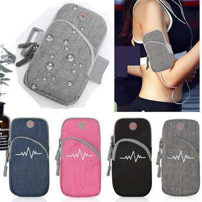 UK Sport Arm Bag Arm Band Mobile Phone Holder Outdoor Running Gym Exercise Pouch