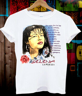 Selena Quintanilla 1995 Official Captive Heart T Shirt Very Rare 100 00 Picclick