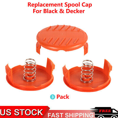 Replacement RC-100-P Spool Cap Cover and Spring for Black/&Decker AFS Trimmer