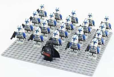 20x Red Shock Clone Troopers Mini Figures LEGO STAR WARS Compatible
