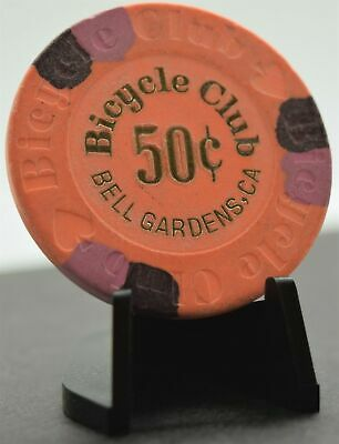 Bicycle Club Casino 50 Cent Chip Bell Gardens CA Paulson H&C