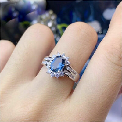 14K White Gold Certified 7.05CT Cute Oval Cut Diamond Engagement /& Wedding Ring