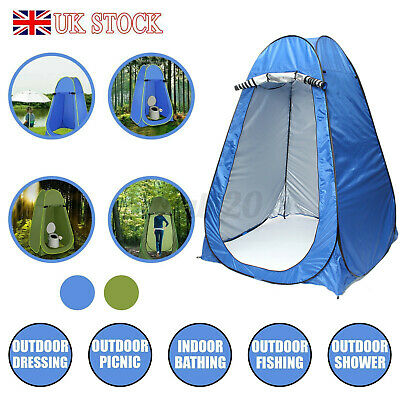 Portable Camping Shower Pop Up Tent Outdoor Changing Private Toilet Tent GB Z4K1
