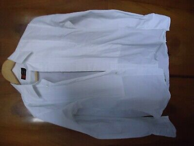 Vintage 1960s 1970s Austin Reed Summit White Pleated Dress Shirt 15 5 Collar 40 7 00 Picclick Uk