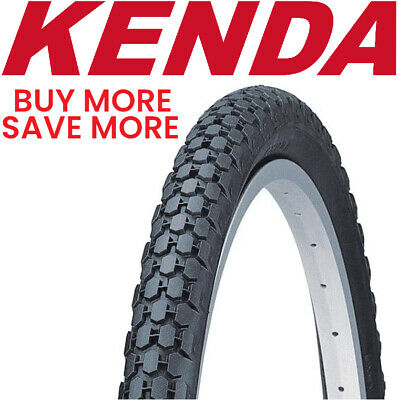 Whitewall Kenda Cruiser Wire Bead Bicycle Tire 26-Inch x 2.125-Inch
