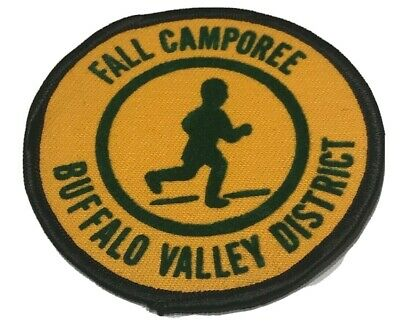 VINTAGE BSA 70s District Camporee Thunderbird Boy Scouts of America Patch RETRO