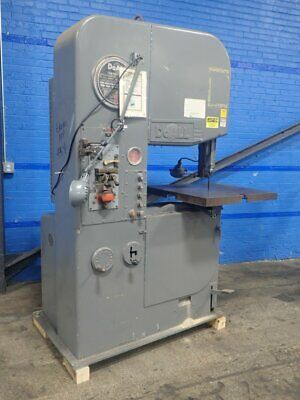 "Doall 26-2 Doall 26-2 Vertical Band Saw 26"" X 16"" 06180780043"
