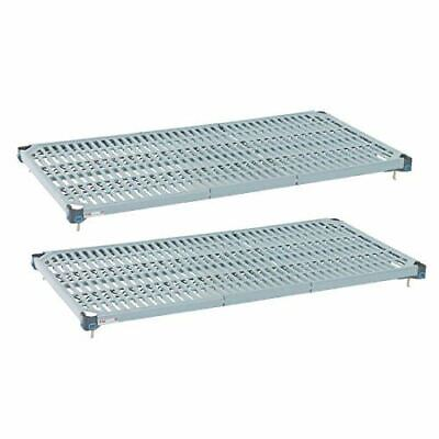 Metro Max Q Shelves - Epoxy Coated - Removable Mats - 1830(W) x 610(D) mm - 2 pc