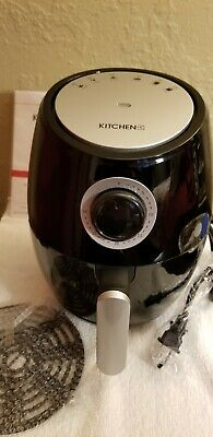 Kitchen Hq 10 Quart Smart Air Fryer Oven With Rotisserie Red 65 62 Picclick Uk