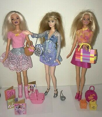 VINTAGE  MOD BARBIE 2 PURSES 2 CLUTCHES Doll  FINISHING TOUCHES 1980's MOC