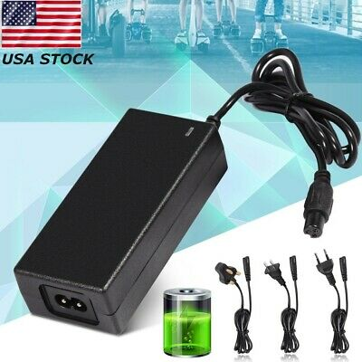 US Stock 3 Prong Coming Data CP4210 Hoverboard Charger 42V