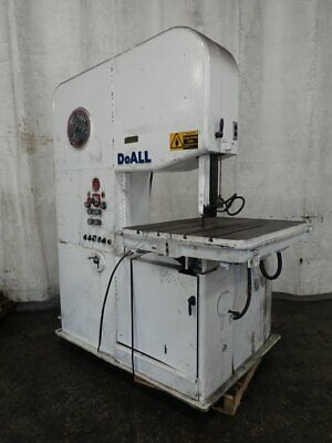 "Doall 2613-3 Doall 2613-3 Vertical Band Saw 26"" X 13""  41"" X 32"" Table 0720"