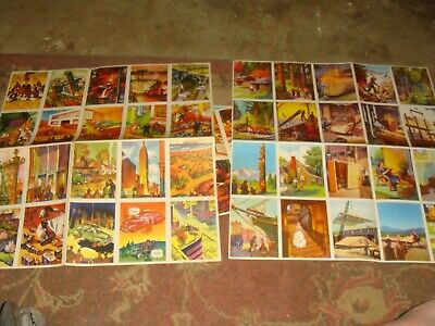 17 Vintage Coca Cola COKE Insert Stamps from 4 Dif - Our America School Booklets