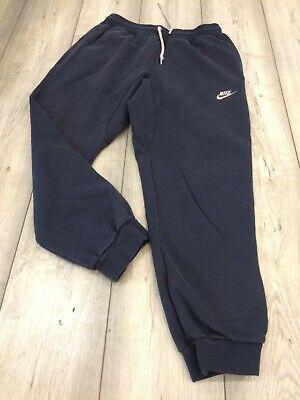 Nike Sweat Pants Joggers Tracksuit Bottoms Size Medium Blue