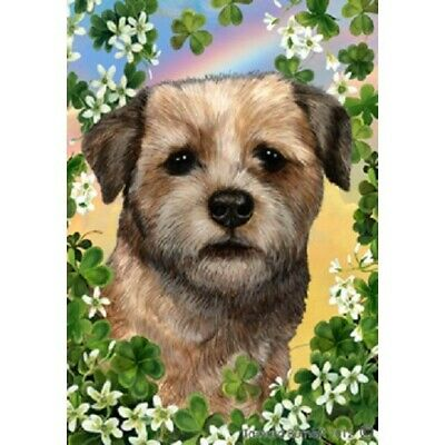 Clover Garden Flag - Border Terrier 311221