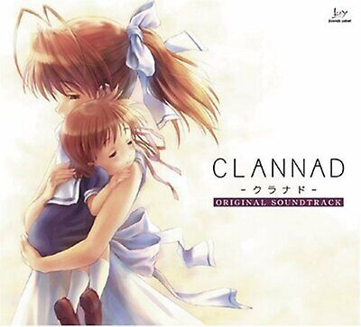 Clannad Original Soundtrack CD Free Shipping with Tracking number New from Japan