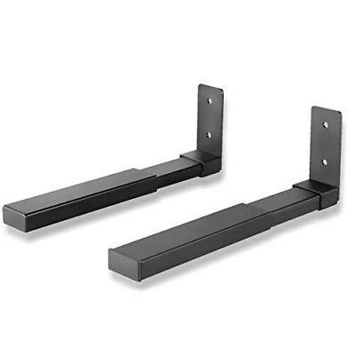 Suptek Center Channel Speaker Wall Mount Dual Bracket Holder Stands, Hold up to