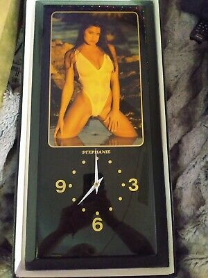 vintage clock from snap on swimsuit  model Stephanie