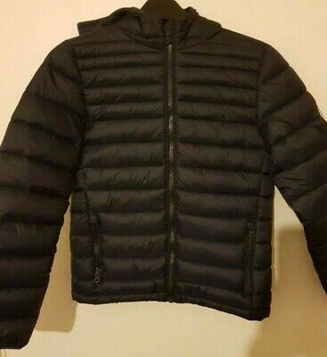 SoulCal&Co, Bubble Padded Jacket, Kids, Color: Black, Size: UK-9-10Y, New