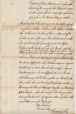 1750s COLONIAL NEW YORK Document Signed GOLDSBROW BANYAR Deputy Sec of Province