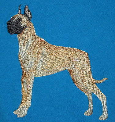 Embroidered Ladies Short-Sleeved T-Shirt - Great Dane C4804