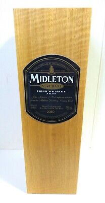 Vintage BOX ONLY for JAMESON MIDLETON VERY RARE IRISH WHISKEY Wooden from 2010