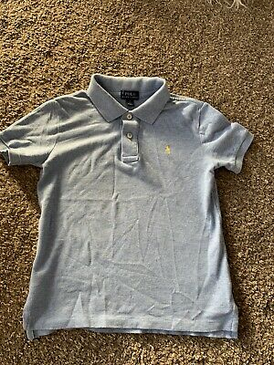 Boys Light Blue Tshirt Age 7 In Good Condition