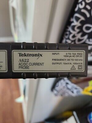Tektronix current probe Model A622.