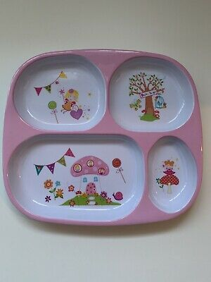 Pink Fairy Baby/Toddler/Weaning Plate