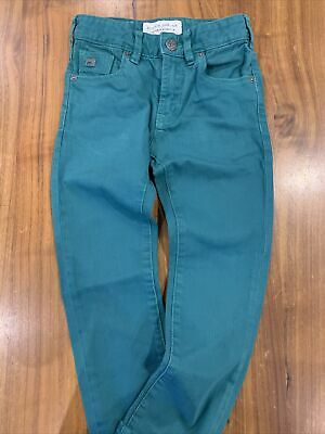 Scotch Shrunk Jeans Green Age 6 116cm