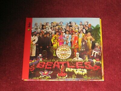 The Beatles -Sgt Pepper's Lonely Hearts Clun Band Cd /Trifold Sl +32  Booklet