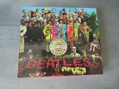 The Beatles – Sgt. Pepper's Lonely Hearts Club Band cd album with slipcase and