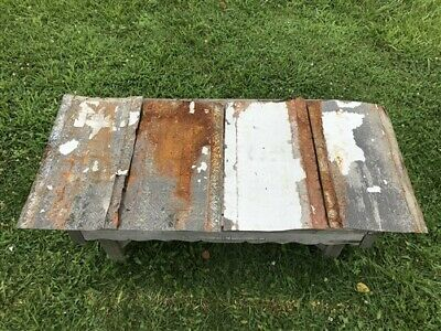 4 Ceiling Tin Panels, Vintage Reclaimed Molding, Architectural Salvage A7,