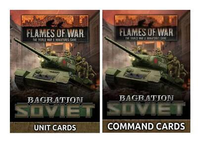 WW2 RED BANNER UNIT CARDS SHIPPING NOW FLAMES OF WAR FW250U