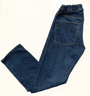 H&M narrow fit blue cotton Denim Jeans/ Trousers, 146 cl/ 10-11 years