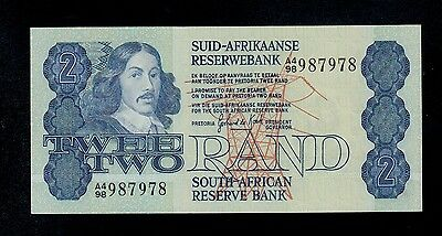 SOUTH AFRICA 2 RAND ( 1981-83 ) A4/98   PICK #  118d  UNC LESS.
