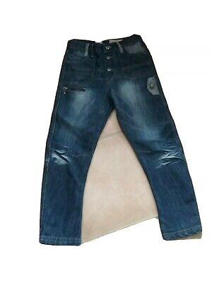 Boys Twisted leg Jeans from the   Rocha John Rocha  collection  9yrs- button fly