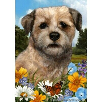Summer Garden Flag - Border Terrier 181221