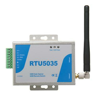 RTU5035 GSM Gate Opener Relay Switch Wireless Remote Control with Antenna
