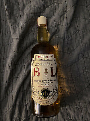 Bulloch Lade's gold label blended scotch whiskey