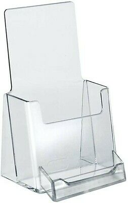 50 pack ***Trifold Brochure Holder with Business Card ***50 pack