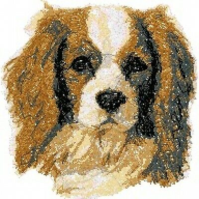 Embroidered Sweatshirt - Cavalier King Charles Spaniel AED14478 Sizes S - XXL