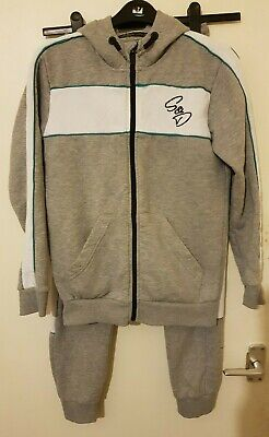 S/D New York, Unisex Tracksuit, Color: Grey/White, Size: 12/13Years, Used