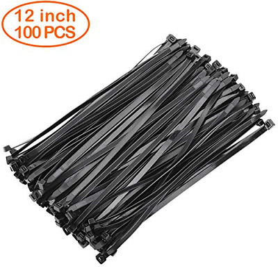OneLeaf Cable Ties 12 Inch Heavy Duty Zip Ties with 120 Pounds Tensile Strength